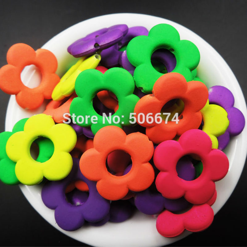 Jewelry & Accessories Top Quality 12 Mix Color Candy Color Acrylic Rubber Beads Neon Matte Round Spacer Loose Beads For Diy Jewelry Handmade Products Hot Sale