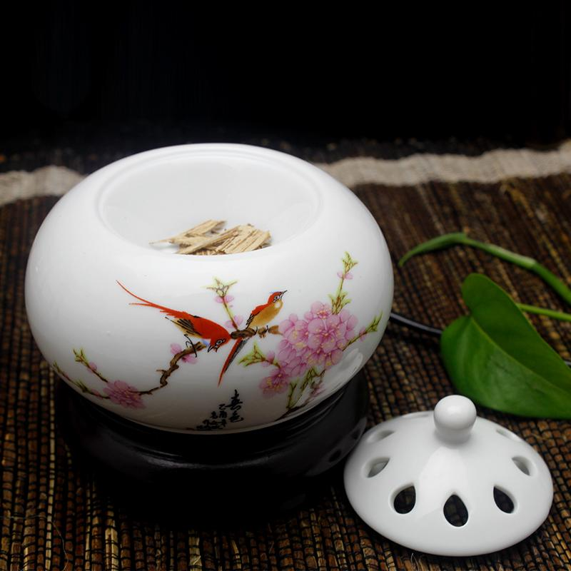 Electronic incense burner temperature ceramic incense burners aromatherapy electric electronic incense perfumed powder