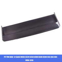Fit for Mercedes Benz G class W463 G350 G500 G500 G55 G63 G65 double carbon fiber top wing fin spoiler tail