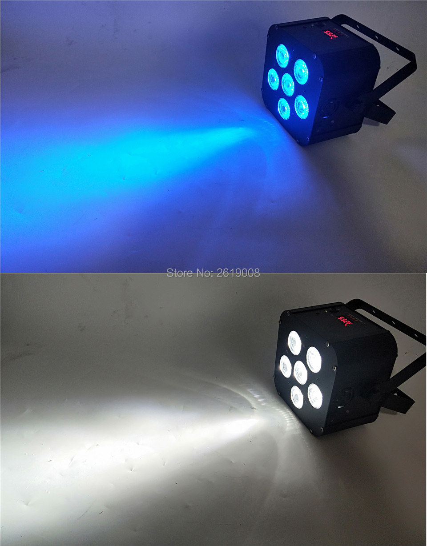 6in1 RGBWA UV IR WI-FI Sem Fio