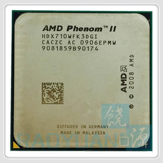 AMD Phenom X3 710 2.6GHz Triple-Core CPU Processor X3-710 HDX710WFK3DGI 95W Socket AM3 938pin
