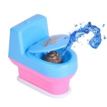 Funny Creative Novelty Spoof Gadgets Toys Mini Prank Squirt Spray Water Toilet Joke Gag Toy Gift
