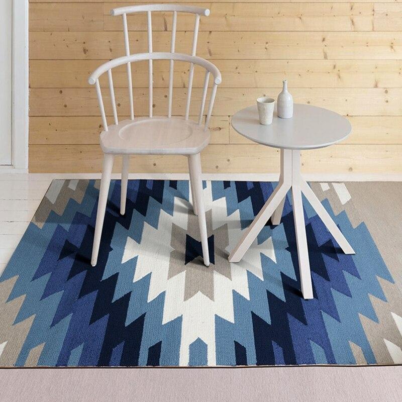 6mm tapis salon chambre maison complète étude Table de thé couverture de chevet été ménage tapis Rectangle géologie Style nordique