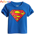 2016 Spring Summer 100% Cotton Children Short Sleeve T-Shirts Kids Clothing Tees Baby Boy Girl Cartoon Tops Kids O Neck T Shirt