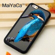37c2e397441 MaiYaCa Prachtige Kingfisher bird Print Soft TPU Mobiele Telefoon Gevallen  Zakken Voor iPhone X XS MAX