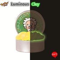 Luminoso Decoloración Plastilina Plastilina No Limo Limo Magnética Adulto Anti-estrés Juguetes Rebote Barro Juguetes Para Los Niños