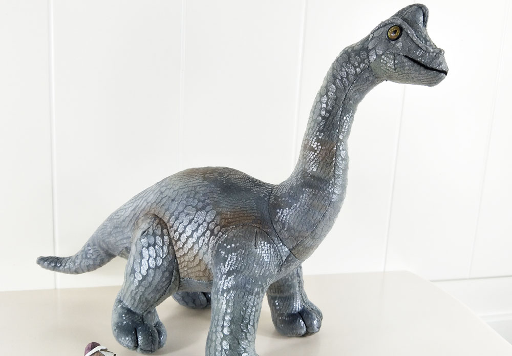 BOLAFYNIA Really picture Brachio saurus dinosaur Children Plush Stuffed Toys Baby Kid Toy doll for Christmas Birthday Gift in Stuffed Plush Animals from Toys Hobbies