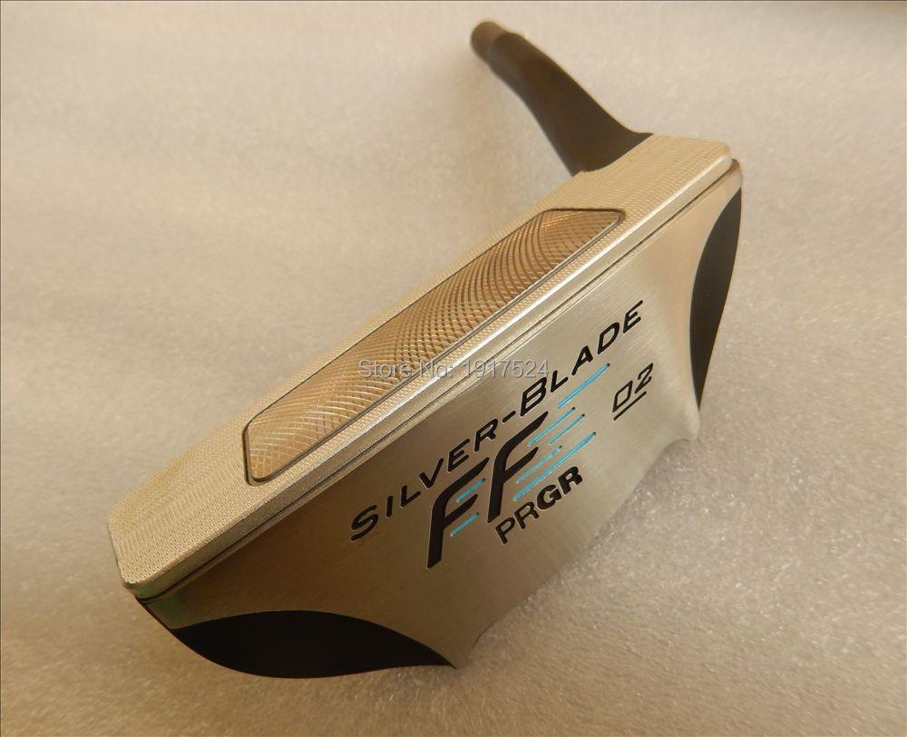 PRGR SLIVER BLADE 02 with cnc milled aluminum soft face golf putter head