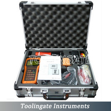Digital TUF-2000H ultrasonic liquid flow meter with TS-2 transducers (DN15-100mm) handheld flowmeters