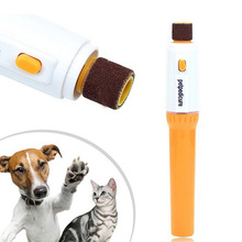 Pet Pedicure Tools Care File Electric Automatic Pet Grinder Pet Cat Puppy Paw Claw Toe Nail Grinder Grooming Trimmer Clipper