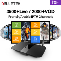 Q1504 Smart HD IPTV Android Tv Set Top Box With IPTV Arabic French IPTV Europe Account