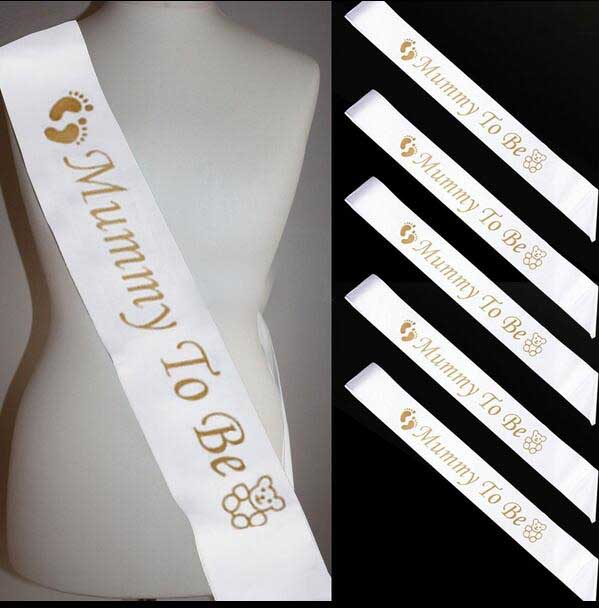 Sash For Mummy,Nanny,birde To Be Bridsmaid Hen For Birthday Wedding Party  Decoration Baby Shower Gift Craft DIY Favor In Party DIY Decorations From  Home ...