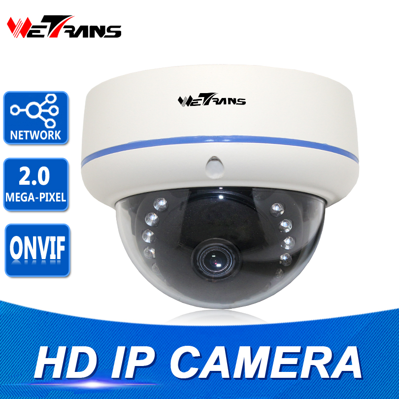 Network IP Camera Onvif IR 10m Night Vision Vandalproof Dome 2.8-12mm Lens Plug and Play Video Surveillance Camera IP CCTV 4 in 1 ir high speed dome camera ahd tvi cvi cvbs 1080p output ir night vision 150m ptz dome camera with wiper