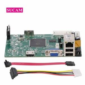 Image 1 - 8 канальный 4MP мини NVR сетевой видеорегистратор основная плата для 2mp 4mp 5mp IP камера система для ONVIF ip камеры