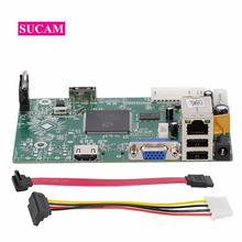 8 kanaals 4MP Mini NVR Netwerk Video Recorder Main Board voor 2mp 4mp 5mp IP Camera Systeem voor ONVIF IP cameras