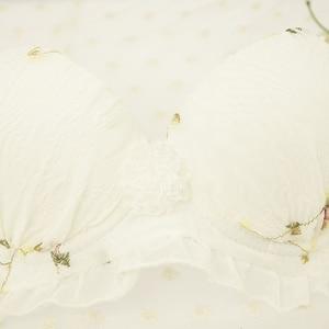 Image 2 - Хао цинган. Комплект японского нижнего белья для девочек, тонкие бюстгальтеры для девочек, летние милые красивые трусики, Комплект бюстгальтеров