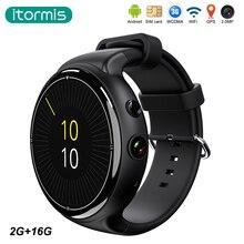 Itormis smart watch smartwatch Android Bluetooth 3G Quad-core MTK6580 RAM 2G Rom 16G Kamera WiFi GPS herzfrequenz i4 air