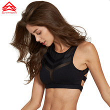 SYPREM sports bra fitness women mesh no steel  sport yoga girls gym Pilates size XS-XL white black running