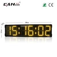 [Ganxin] 8'' LED Countdown Marathon Timer large square sports timer clock