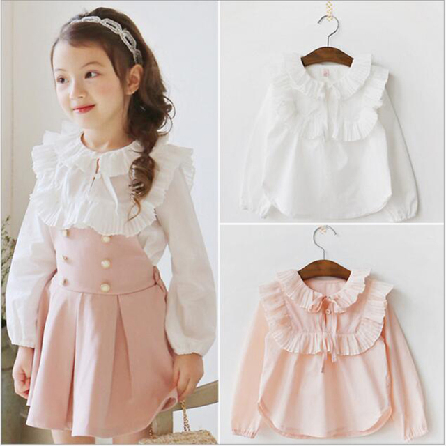 School Girls Clothing Sets Kids Clothes Sets Princess Outfits Children Casual Lace shirt+skirt set 2-7y toddler girls clothing