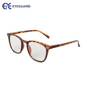 Image 3 - EYEGUARD Anti Reduce Blue Rays Light Unisex Spring Hinges Computer Reading Glasses Readers UV Protection Anti Glare Eyewear Demi