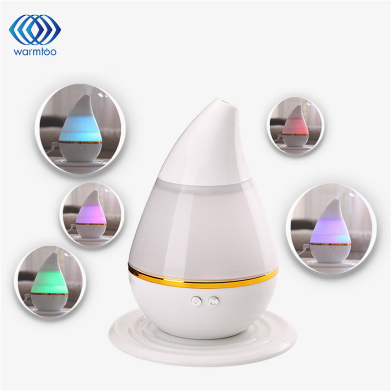 купить 250ml Ultrasonic Aroma Humidifier 7 Color LED Light USB Air Aromatherapy Essential Oil Diffuser недорого