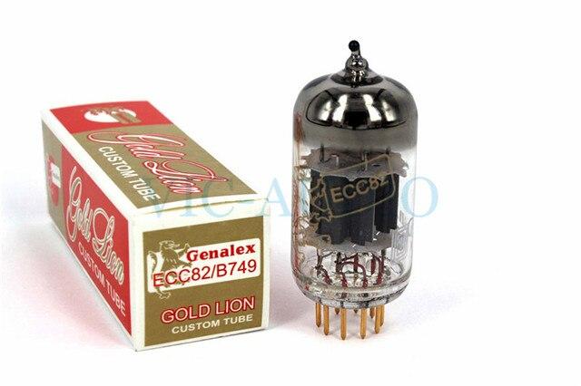 1 قطعة روسيا أنبوب جديد الذهب الأسد Genalex ECC82 فراغ أنبوب استبدال 12AU7 B749 ECC802 الإلكترون أنبوب شحن مجاني