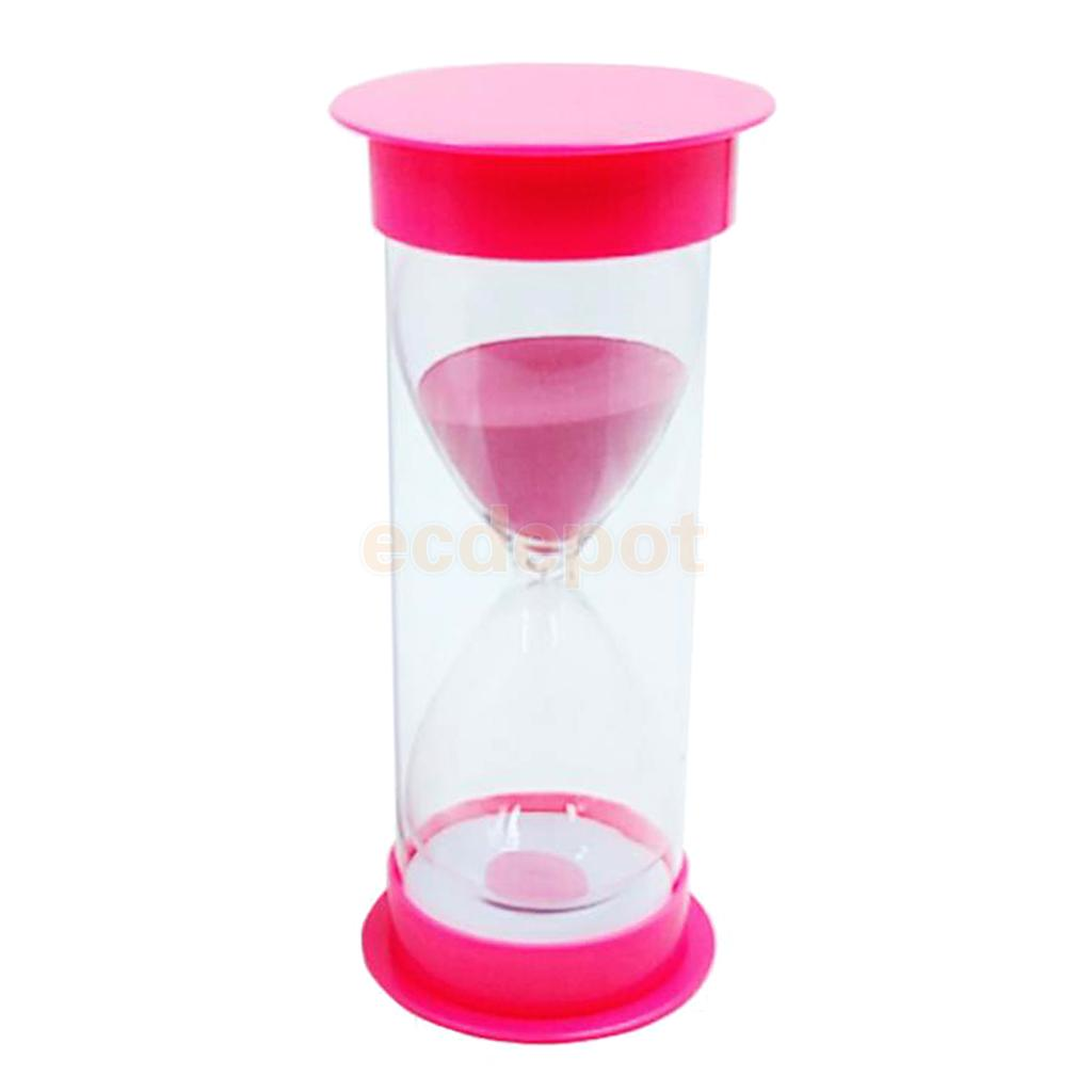 Reading Cooking Exercise Games Timer 60 Minutes Sandglass Round Hourglass Home Office Decor Ornaments