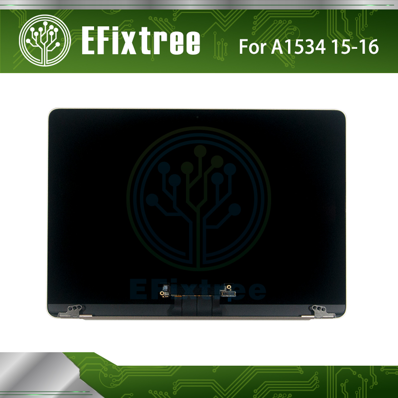 Original 2015 2016 2017 Year Retina 12'' A1534 lcd Assembly For Macbook Retina 12