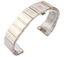 Смотреть Аксессуары ремешок для часов люксовый бренд часы omega 123.20.35.20.58.001