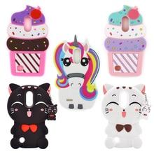 Cute Unicorn Printed Silicone Phone Case