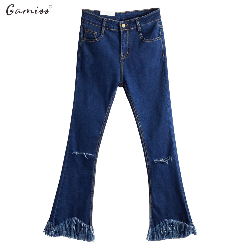 Womens Flare Jeans Long Plus Size Promotion-Shop for Promotional ...