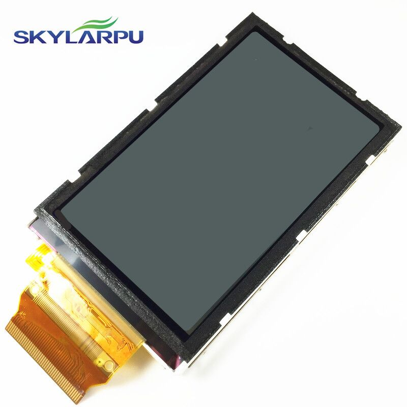 skylarpu 3''inch LCD screen For GARMIN OREGON 450 450t Handheld GPS LCD display screen panel without touch panel Free shipping skylarpu 2 2 inch lcd screen module replacement for lq022b8ud05 lq022b8ud04 for garmin gps without touch