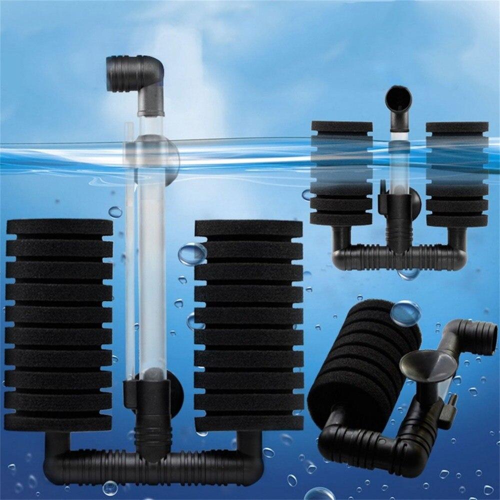 New Practical Aquarium Biochemical Sponge Filter XY-2831 Fish Shrimp Tank Air Pump For Fish Tank Home Fish Aquatic Pets Products