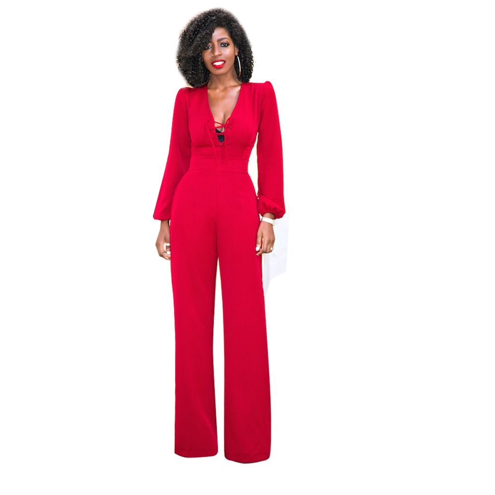 Popular Formal Red Jumpsuit for Women-Buy Cheap Formal Red ...