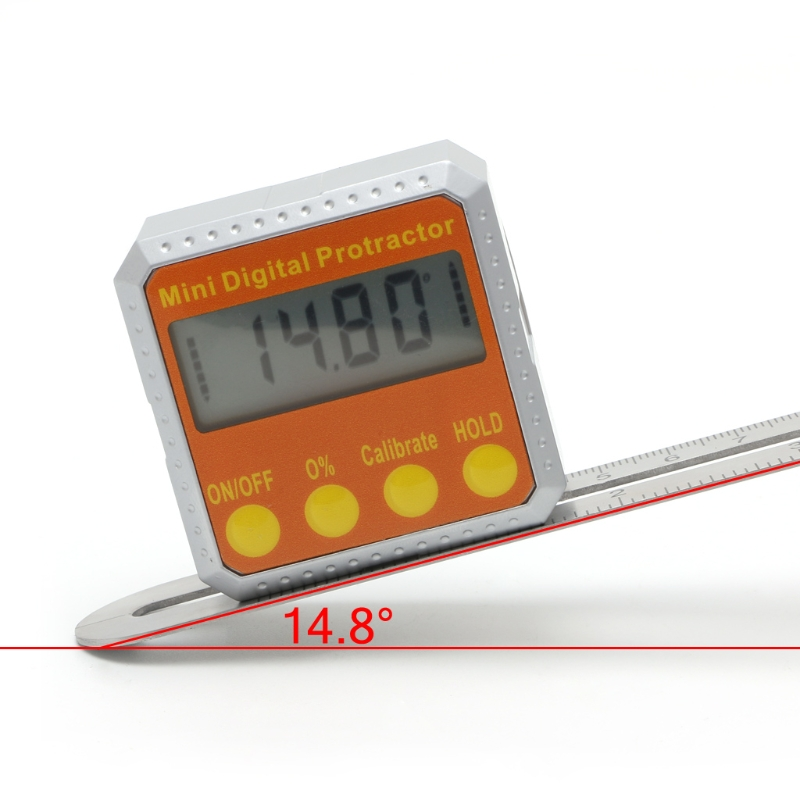 360 Degree Digital Protractor Inclinometer Electronic Level Box Magnetic Angle Gauge  цены