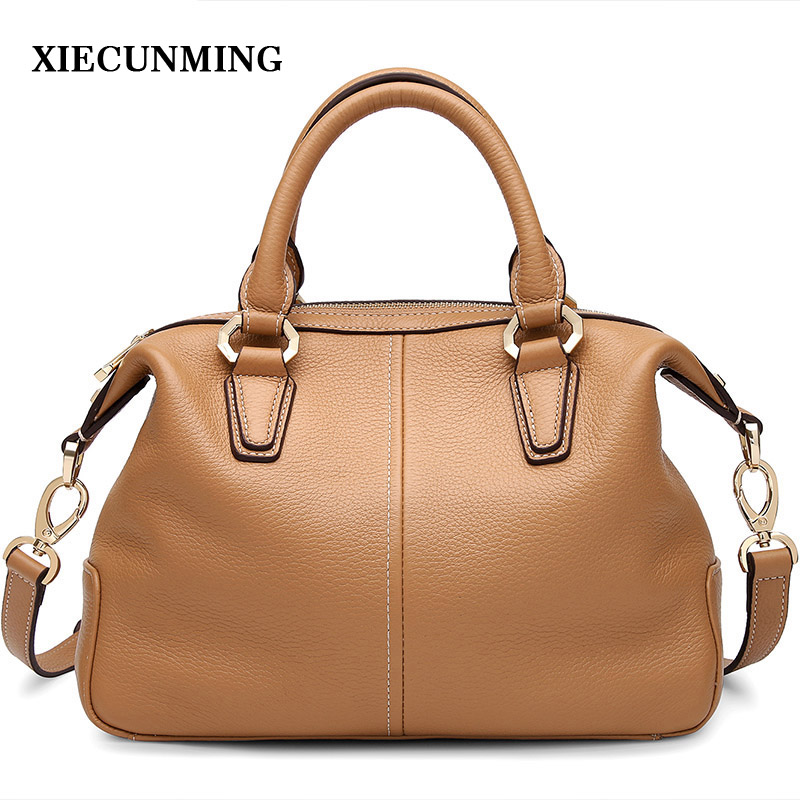 Brand Women's Cow Leather Handbags Female Shoulder bag designer Luxury Lady Tote Large Capacity Zipper Handbag for Women aelicy women s leather handbags female shoulder bag luxury designer lady tote large capacity zipper handbag for women bolsas