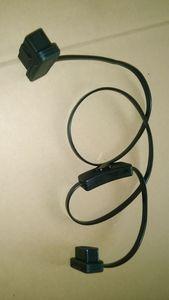 Image 5 - Câble OBD2 mâle à femelle de 60cm/1m, connecteur dextension de Diagnostic pour ELM327