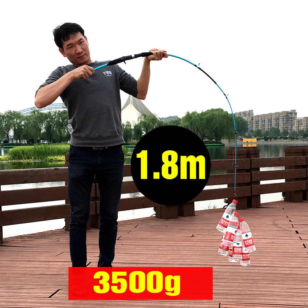 Ghotda 1.8 M 1.5 M 3-21G Đúc Quay Dụ Trọng Lượng Siêu Nhẹ 5-15LB Dòng Siêu Nhẹ Mồi Câu Cá thanh