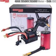 SURPASS HOBBY KK Waterproof Combo 4068 2050KV 2650KV Brushless Motor w/120A 150A