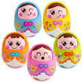 2016Baby music toy instrumentos musicais large tumbler nod doll 0-3-6-9-12 Month baby early childhood educational 0to3 years old