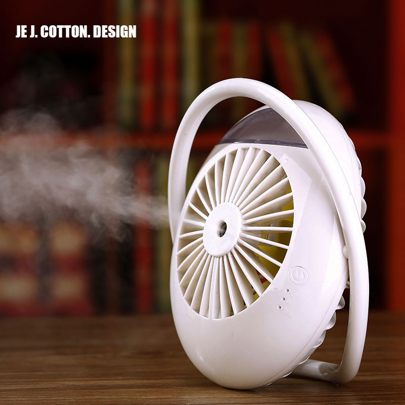 2000mAh Battery Fan Personal Air Cooler Mist Humidifier Mini Air Conditioning Water Arctic Portable Table Fan for Home Outdoor new portable outdoor mini fans with led lamp light table usb fan spray water humidifier personal air cooler conditioner for home