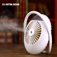 2000mAh Battery Fan Personal Air Cooler Mist Humidifier Mini Air Conditioning Water Arctic Portable Table Fan for Home Outdoor