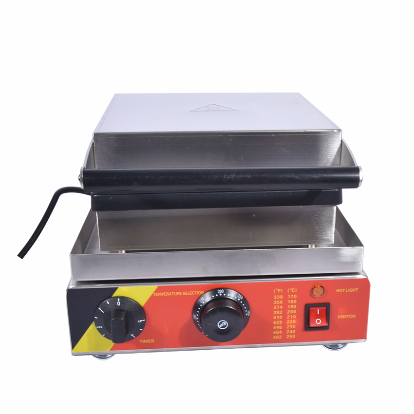 1PC 220V NP 502 electric stainless steel commercial home use lolly waffle maker machine kitchen appliance
