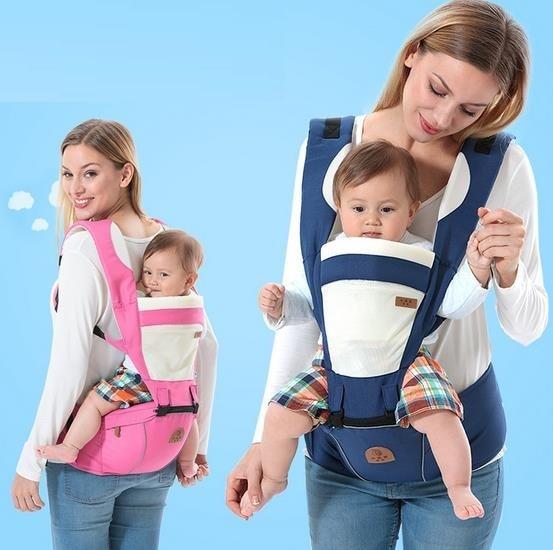 حاملة الطفل mochila infantil الوليد ظهره 3 إلى 48 متر الرضع الطفل حبال الحقيبة التفاف الطفل الكنغر الطفل حقيبة الظهر