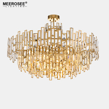 Luxurious Crystal Chandelier Light Gold Crystal Hanging Lamp for Restaurant Hotel Project Lustres Luminaire Lighting traditional crystal chandeliers lighting gold palace light luxury hotel lamp for restaurant diameter40cm guaranteed100% 9052