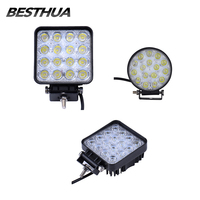 10 Pieces Lot 48W Car LED Work Light Bar 16 X 3W As Square Round Work