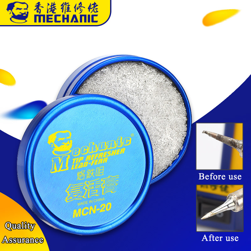 MECHANIC Soldering Tips Extended Use Time Refresher Clean Paste For Oxide Welder Tip Head Resurrection Cream Soldering Accessory