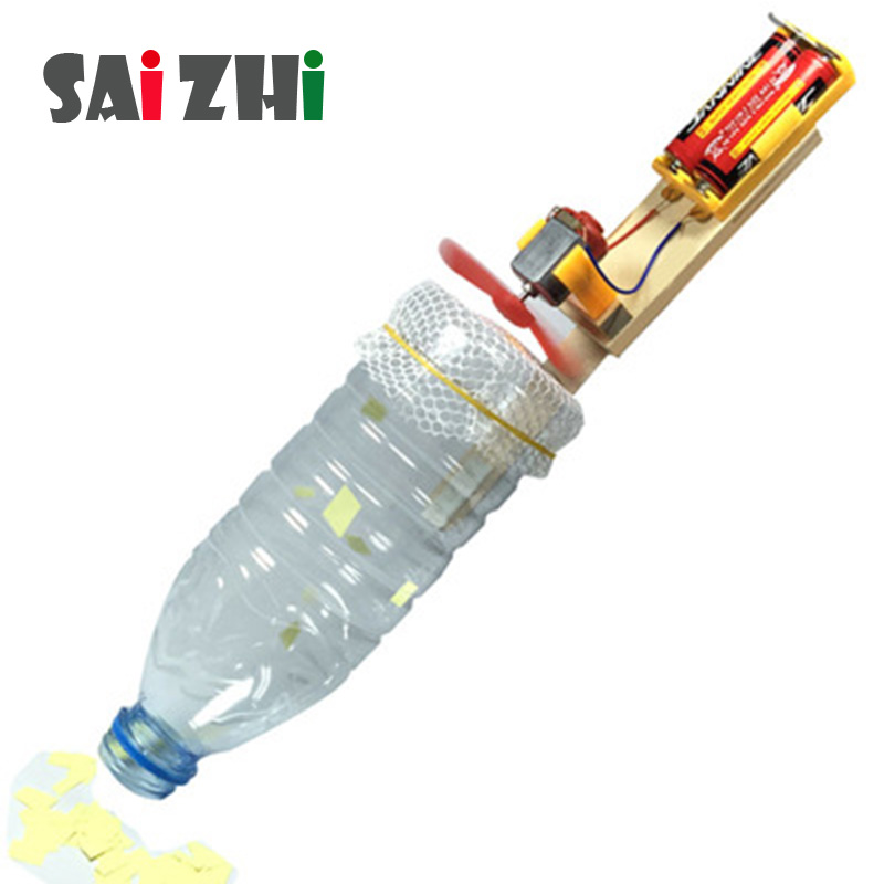 Saizhi Model Toy Diy Electric Motor Toy Creative Vacuum Cleaner Developing Intelligent STEM Science Toy Birthday Gift SZ3207