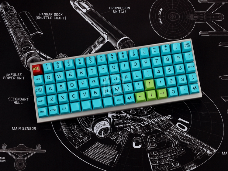 US $29 9 |xd75re xd75am xd75 Custom Mechanical Keyboard 75 keys Underglow  RGB PCB GH60 60% programmed gh60 kle planck hot swappable switch-in